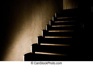 Dark Stairs 5