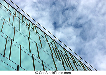 Office building facade - Part of an office building facade...