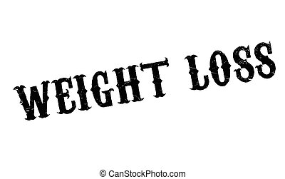 Weight Loss rubber stamp. Grunge design with dust scratches....