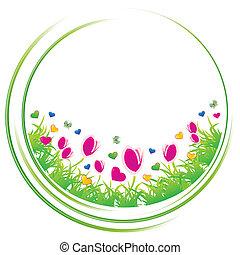 Spring circle