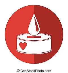 campaing donation blood drop shadow vector illustration eps...