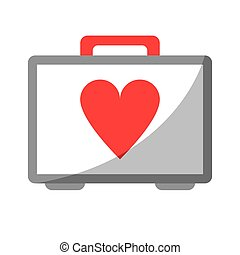 first aid kit emergency heart care