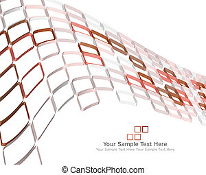 checked background - Abstract 3d checked business background...