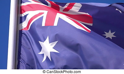 Video of Australian Flag - High quality video of Australian...
