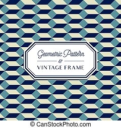 Geometric Pattern - Geometric Seamless Pattern and Vintage...