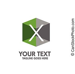 creative letter X logo. Abstract business logo design...