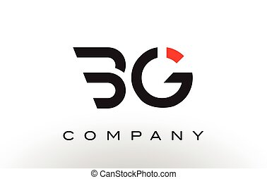 BG Logo. Letter Design Vector. - BG Logo. Letter Design...