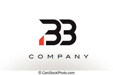 BB Logo. Letter Design Vector. - BB Logo. Letter Design...