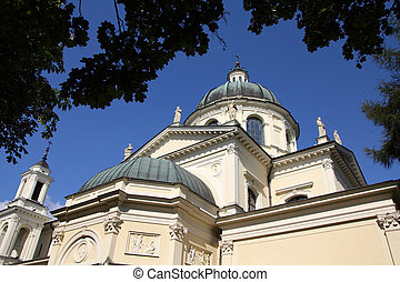 Warszawa - Warsaw, Poland Collegiate church of Saint Anne in...