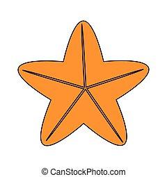 sea star icon
