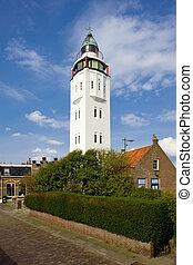 lighthouse, Harlingen, Friesland, Netherlands