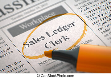 Now Hiring Sales Ledger Clerk. 3D. - Sales Ledger Clerk....