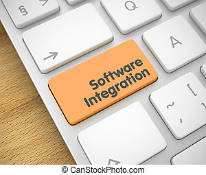 Software Integration - Message on Orange Keyboard Button....