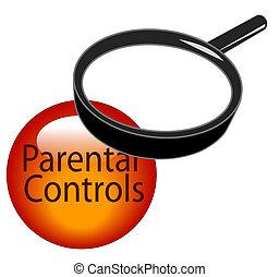 parental controls button