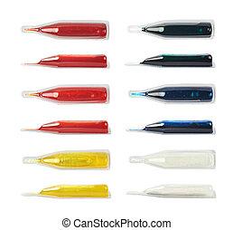 Food dye coloring in a capsule - Food dye liquid coloring in...