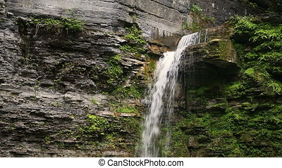 Eagle Falls Plunge Loop - Eagle Cliff Falls, a waterfall...