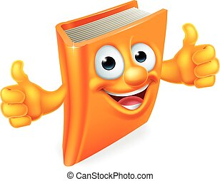Cartoon Thumbs Up Book