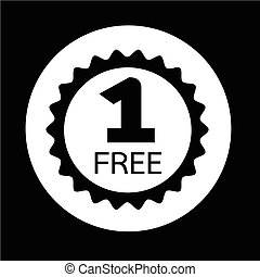 Buy one get one free Icon