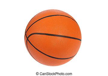 Orange basket bal, photo on the white background
