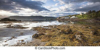 Ord Beach on the Isle of Skye - Ord beach on the Isle of...