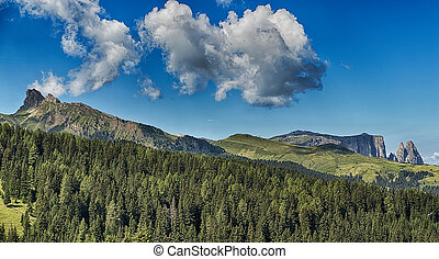Landscape of the italian Alps - Landscape of the mountains...