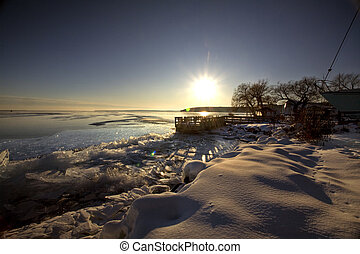 Lake Superior in Winter