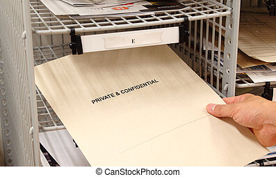 Private and Confidential - Receiving a private and...