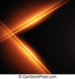 glowing light streaks background