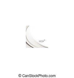 elegant gray wave background design