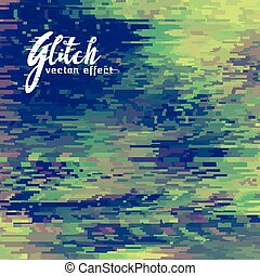 glitch vector effect background for corrupt file