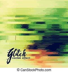 image data error glitch background
