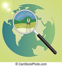 World geodetic system - Global geodetic work in the world....