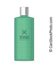 Tonic Natural Series - Tonic natural series. Green plastic...