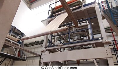 Plastic bags conversion machine - Plastic bags factory...