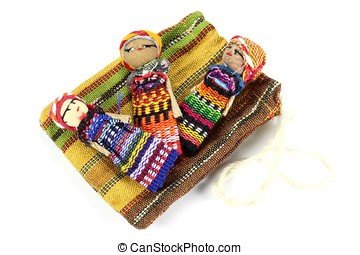 worry dolls - traditional worry dolls made in Guatemala...