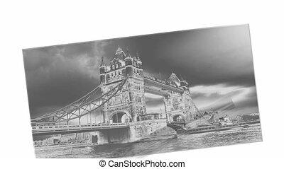 london bridge infrared footage