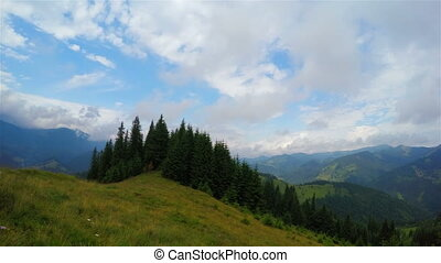 Summer Mountains Landscape. - Summer Mountains Landscape...