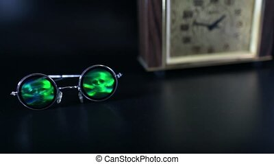 eyes death skull - eyes death eyeglasses with skull camera...