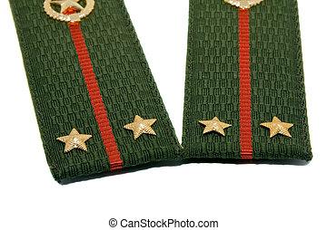 Military epaulets