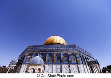 Dome of the Rock - One of the holiest places to the Islam,...