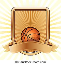 basketball sport design element