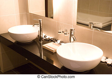Wash Basins - Image of a nice pair of wash basins