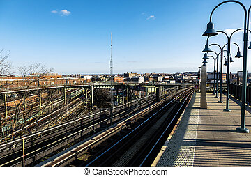 Broadway Junction - The view seen from the Broadway Junction...
