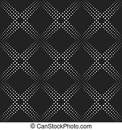 Dotted line geometric seamless pattern - Dotted Line...