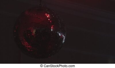 disco ball close up