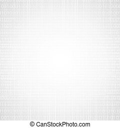 Abstract tech binary silver white texture background