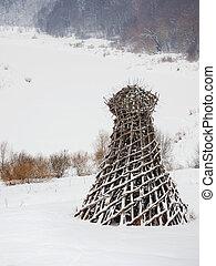 NIKOLA-LENIVETS, RUSSIA - January 15, 2017. Artobject...