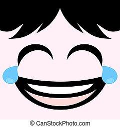 joking face - creative design of joking face