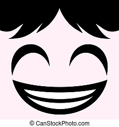 smiling face - creative design of smiling face
