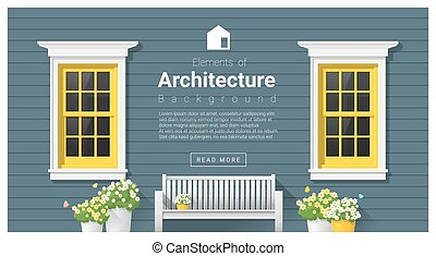 Elements of architecture , window background 12 - Elements...